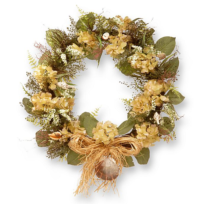 Alternate image 1 for National Tree Company 32-Inch Seashore Artificial Wreath