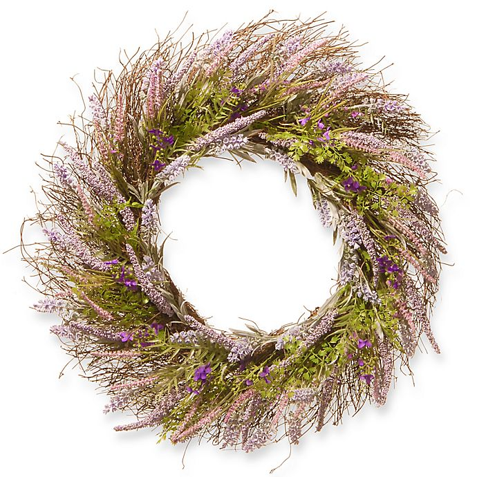 Alternate image 1 for National Tree Company 24-Inch Lavender Artificial Wreath
