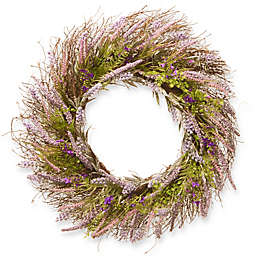 National Tree Company 24-Inch Lavender Artificial Wreath