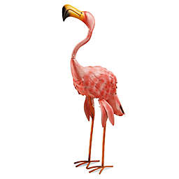 National Tree Company 32-Inch Garden Accents Flamingo in Pink