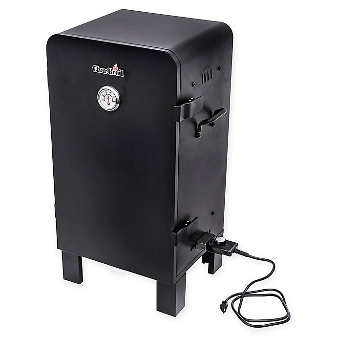 Char-Broil® Analog Electric Smoker in Black | Bed Bath & Beyond