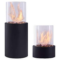 Danya B.™ Portable Indoor/Outdoor Tabletop Fire Pit in Black