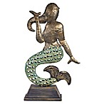 Solar Metal Mermaid in Copper