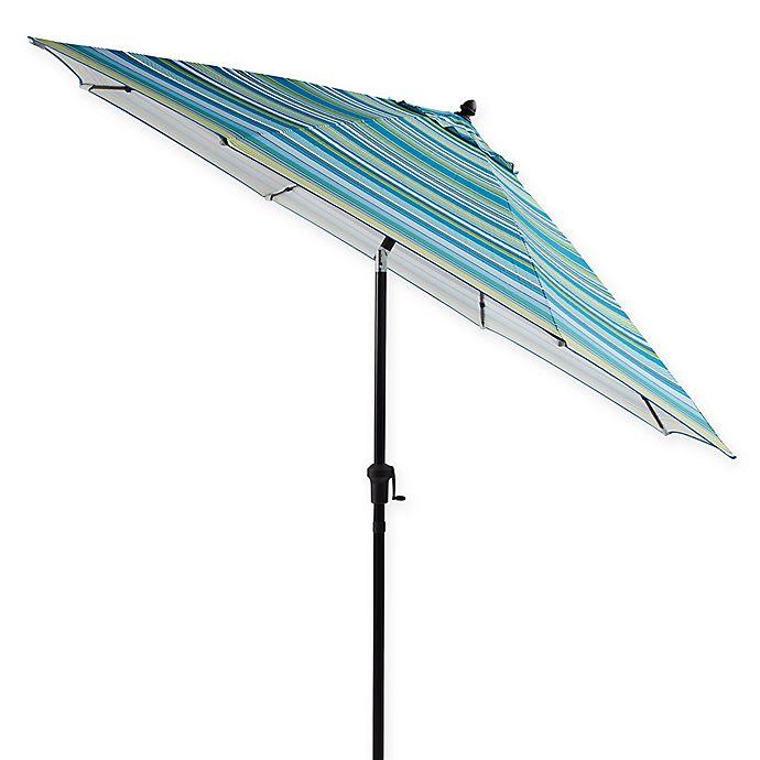 9 Foot Tilting Outdoor Patio Umbrella Bed Bath Beyond