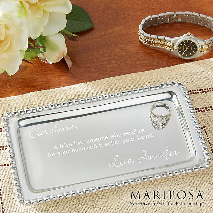 Alternate image 1 for Mariposa® String of Pearls Jewelry Tray