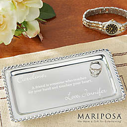 Mariposa® String of Pearls Jewelry Tray