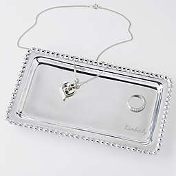 Mariposa® String of Pearls Name Jewelry Tray