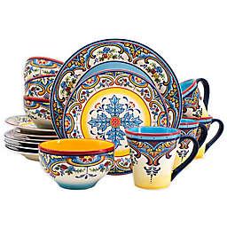 Euro Ceramica Zanzibar 16-Piece Dinnerware Set