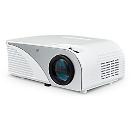 Mini Home Theater Projector in White