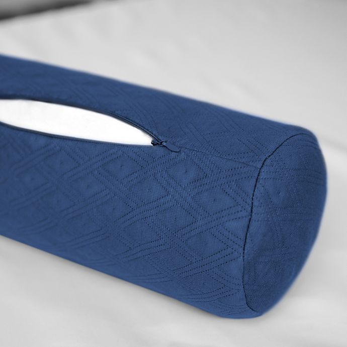 Therapedic 174 Neck Roll Pillow Protector Bed Bath Amp Beyond