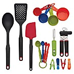 Farberware 17-Piece Multicolor Kitchen Tool and Gadget Set<br />