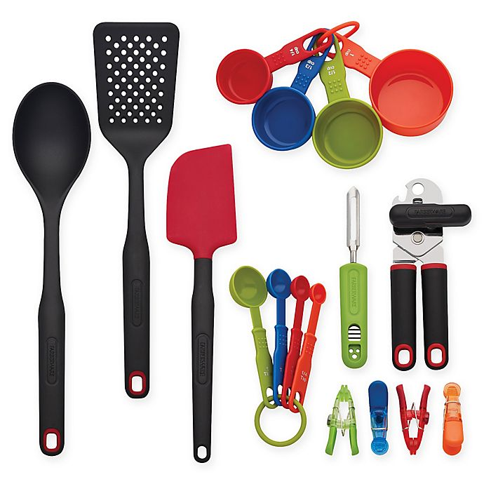 Alternate image 1 for Farberware® 17-Piece Kitchen Tools Set