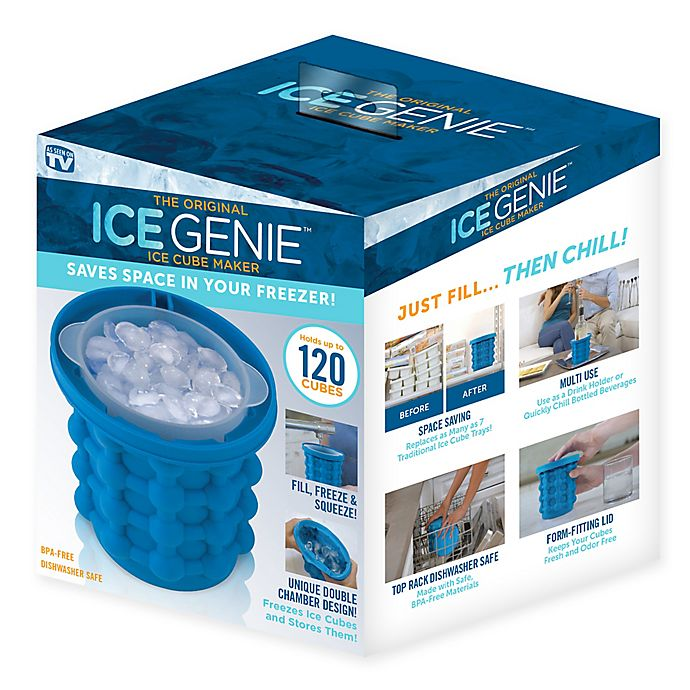 Alternate image 1 for Ice Genie™ Ice Maker in Blue