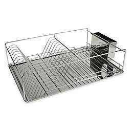Home Basics® Dish Drying Rack in Silver