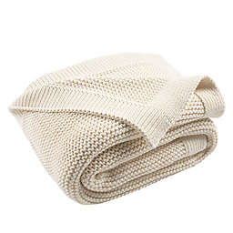 Snug Knit Throw Blanket in Natural