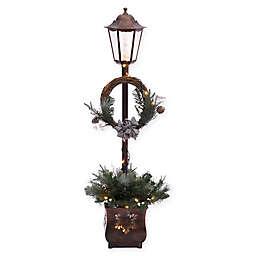 Puleo International 4-Foot Christmas Lamp Post
