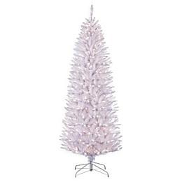 Puleo International Pre-Lit Pencil Frasier Fir Christmas Tree