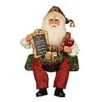 17-Inch Wine and Friends Santa
