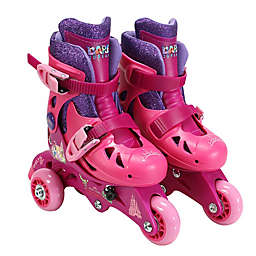 PlayWheels Disney Princess Size 6-9 Convertible 2-in-1 Roller Skates