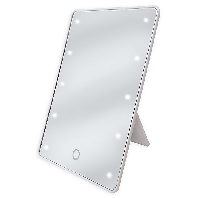 Alternate image 1 for Sharper Image® LED Touch Mirror in White