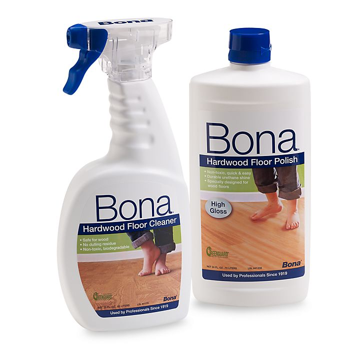 Bona Hardwood Floor Cleaner Polish Set Bed Bath Beyond