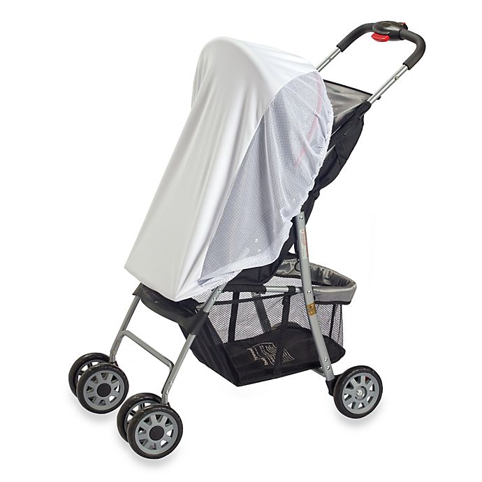 Alternate image 1 for Diono™ Sun Net™ White Stroller Net