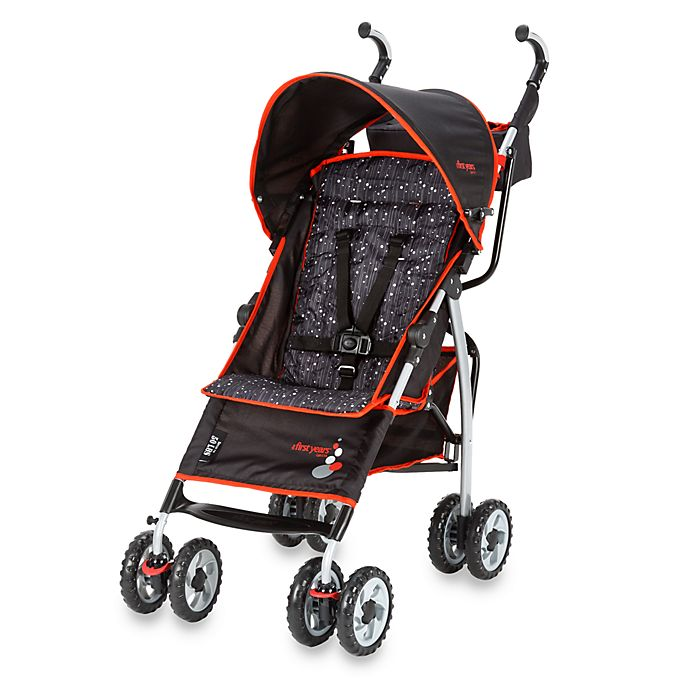 Alternate image 1 for The First Years™ by Tomy Ignite Stroller in Sticks n Stones Black/Red