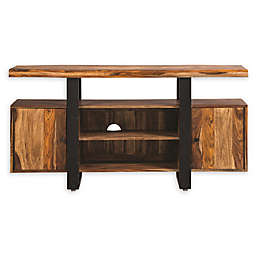 Scott Living Knox Industrial TV Console in Black