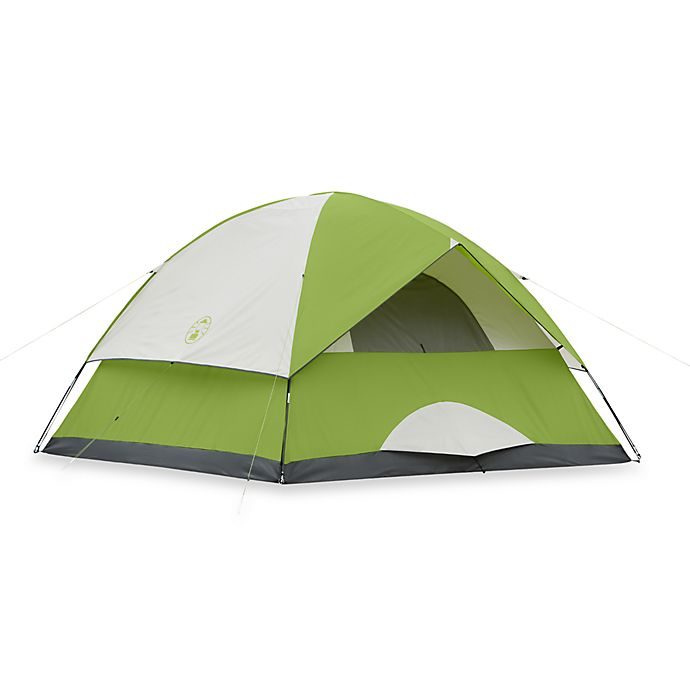 Coleman® Sundome® 6-Person Tent in Green | Bed Bath & Beyond