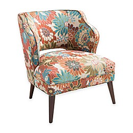Madison Park Cody Armless Chair in Multicolor Floral