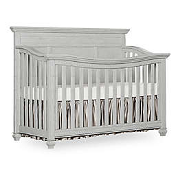 Madison Flat Top 5-in-1 Convertible Crib in Antique Grey