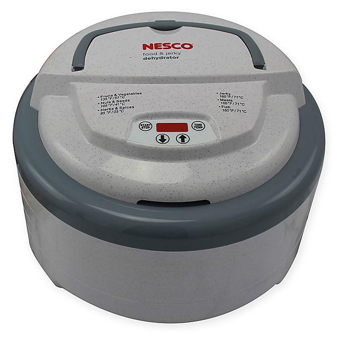 Alternate image 1 for Nesco® 600-watt Top Mounted Food Dehydrator with Timer