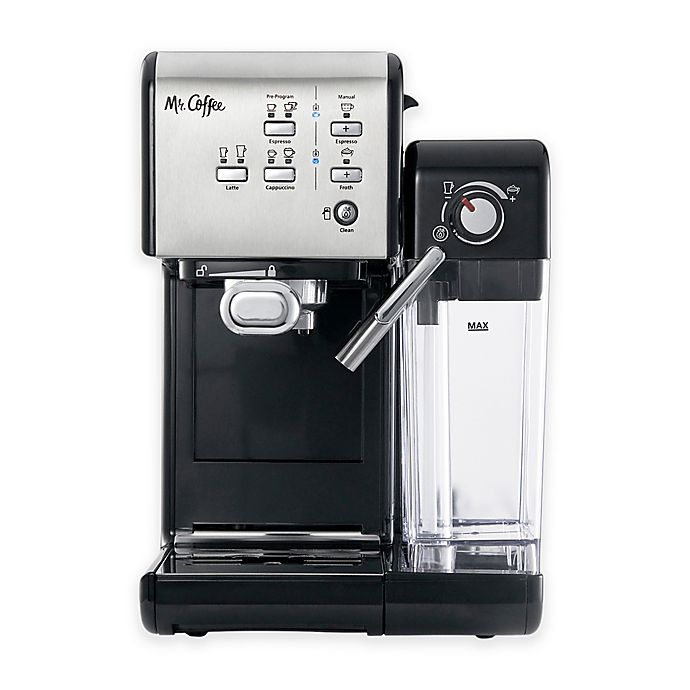 Alternate image 1 for Mr. Coffee® One-Touch CoffeeHouse Espresso and Cappuccino Machine