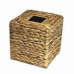 Brookside Natural Water Hyacinth Boutique Tissue Box Cover
