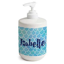 Mermaid Soap Dispenser in White