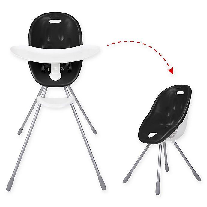Alternate image 1 for phil&teds® Poppy™ High Chair in Black