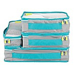 InterDesign® Aspen Packing Cubes in Grey (Set of 4)