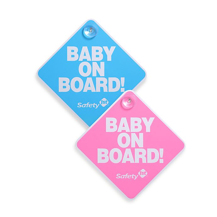 Alternate image 1 for Safety 1st®  Baby On Board Sign