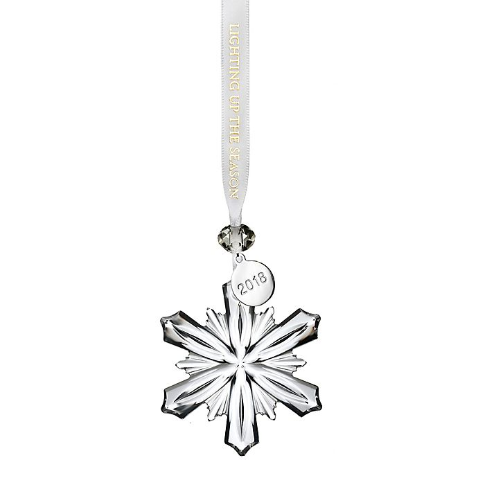 Waterford Christmas Ornaments.Waterford 2018 Annual Mini Snowflake Christmas Ornament