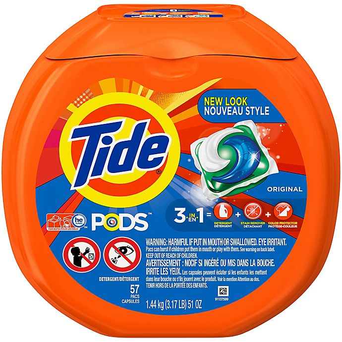 Alternate image 1 for Tide® PODS 57-Count Laundry Detergent in Original