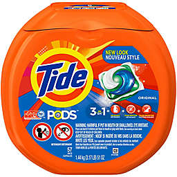 Tide® PODS 57-Count Laundry Detergent in Original