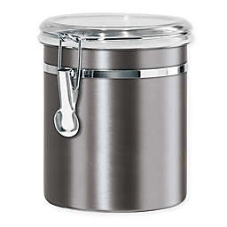Oggi™ Stainless Steel Canister in Slate