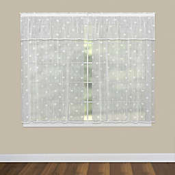 Heritage Lace® Bee Window Curtain Panel and Valance