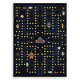 Momeni 'Lil Mo Whimsy LMJ-14 Arcade Area Rug in Black