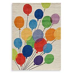 Momeni 'Lil Mo Whimsy LMJ-16 Multi Balloons Area Rug