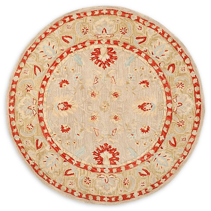 Alternate image 1 for Safavieh Anatolia 6' x 6' Dritona Rug in Ivory
