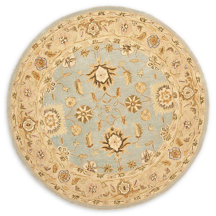 Alternate image 1 for Safavieh Anatolia 4' x 4' Dillon Rug in Light Blue