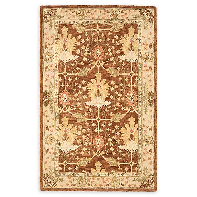 Alternate image 1 for Safavieh Anatolia 6' x 9' Kenzie Rug in Brown