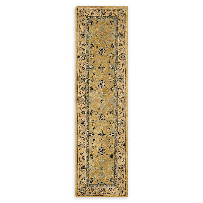 Alternate image 1 for Safavieh Anatolia 2'3 x 8' Suri Rug in Golden Pear