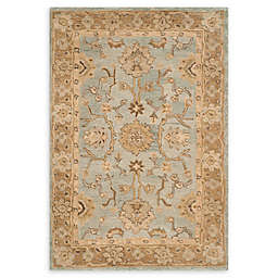 Safavieh Anatolia Nelly 4' x 6' Handcrafted Area Rug in Light Blue